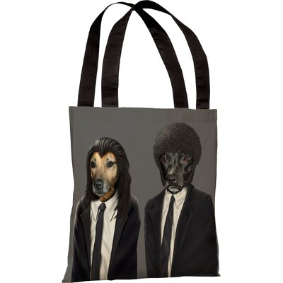 OneBellaCasa.com Pets Rock Hit Dogs Tote Bag