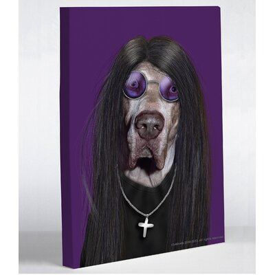 OneBellaCasa.com Pets Rock Metal Canvas