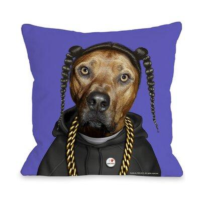 One Bella Casa Pets Rock Rap Pillow