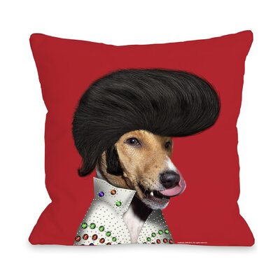 One Bella Casa Pets Rock Rock n' Roll Pillow