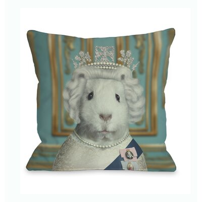 One Bella Casa Pets Rock HRH Pillow