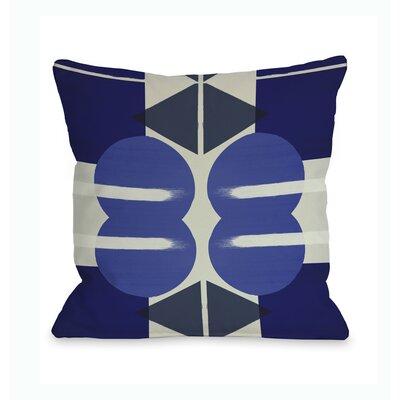 One Bella Casa Oliver Gal Geometry Studies III Pillow