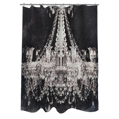 One Bella Casa Oliver Gal Dramatic Entrance Polyester Shower Curtain
