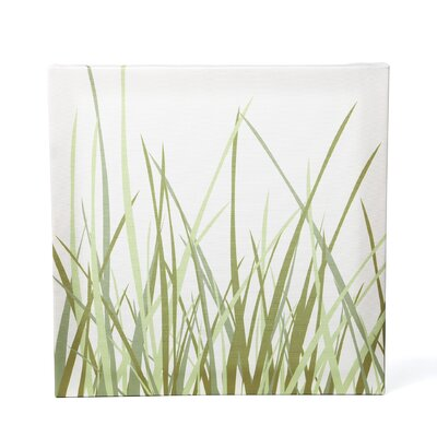 Inhabit Summer Grass Stretched Wall Art