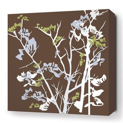 Inhabit Rhythm Ailanthus Stretched Graphic Art on Canvas