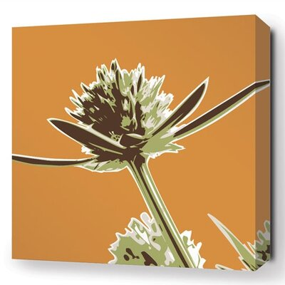 Botanicals Propeller Stretched Graphic Art on Canvas in Sunshine