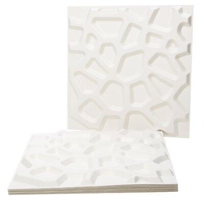 Inhabit Wall Flats Hive Geometric 10 Piece Wallpaper Tiles