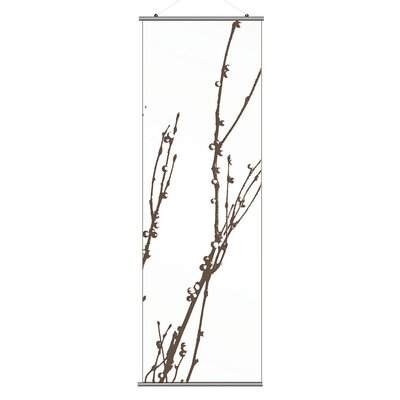 Inhabit Morning Glory Undergrowth 3 Slat Wall Hanging