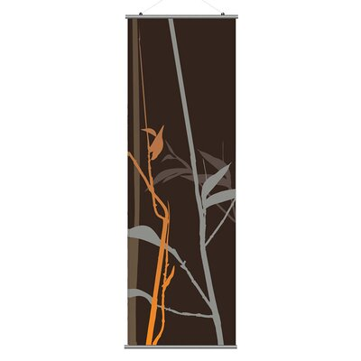 Inhabit Morning Glory Tall Grass Slat in Charcoal and Rust 2