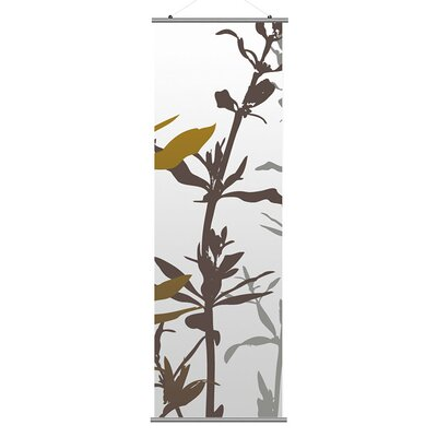 Inhabit Morning Glory Wildflower Slat in Silver and Olive 2