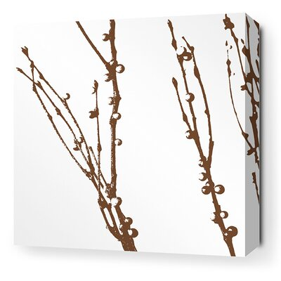 Inhabit-Morning Glory Undergrowth Stretched Graphic Art on Canvas