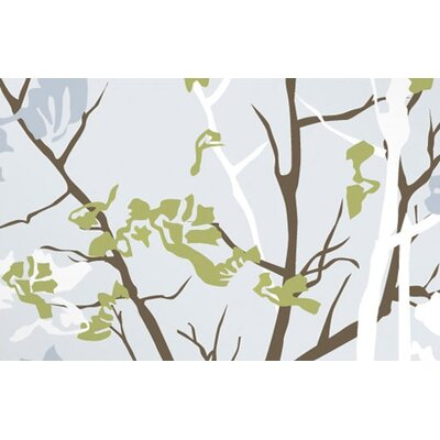 Inhabit Ailanthus Stretched Wall Art in Sky