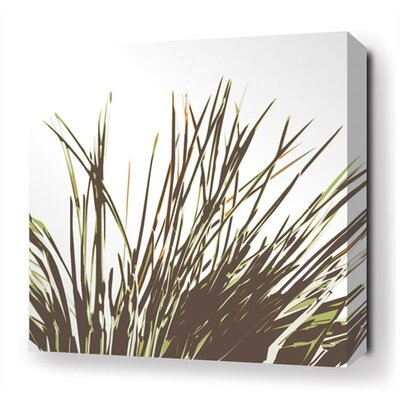 Inhabit Thatch Stretched Wall Art in Grass
