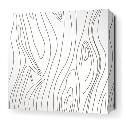 Inhabit Madera Stretched Wall Art in White