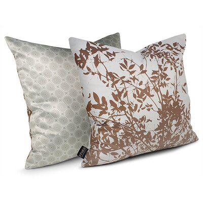 Inhabit Brush Throw Pillow