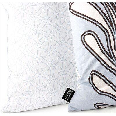 Inhabit Spa Seagrass Suede Throw Pillow