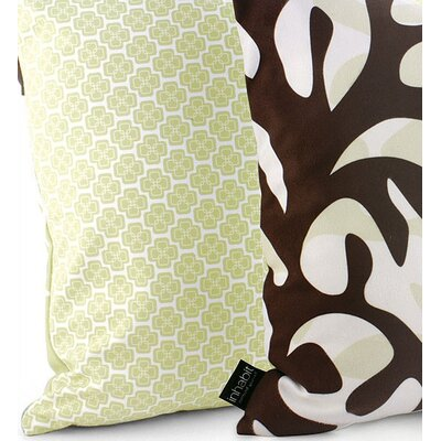 Inhabit Spa Reef Suede Throw Pillow