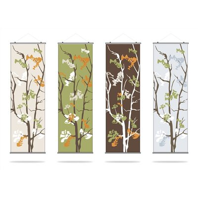 Inhabit Ailanthus Slat Hanging Panel Collection