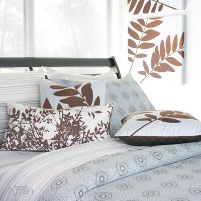 Inhabit Free Rhythm Duvet Cover and 2 Sham Set in Sky
