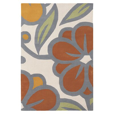 Inhabit Laguna Rug in Prairie/ Melon