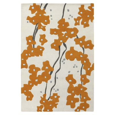 Inhabit Pyrus Rug in Persimmon