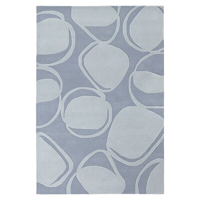 River Rock Rug in Soft Blue
