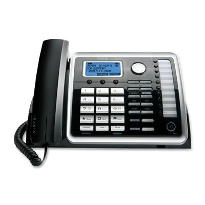 RCA Products Visys 2-Line Corded Speakerphone with Digital Answering System