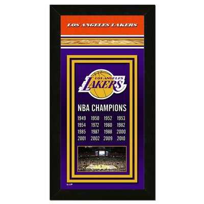 Photo File NBA Championship Banner