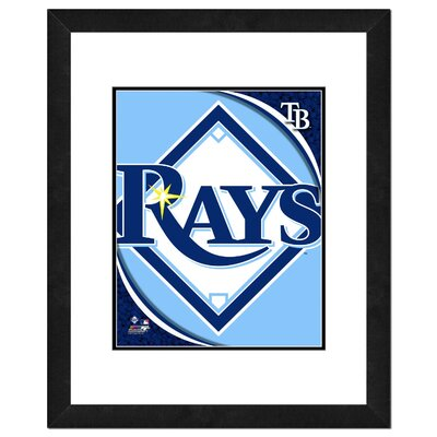 Photo File MLB Logo Framed Photo