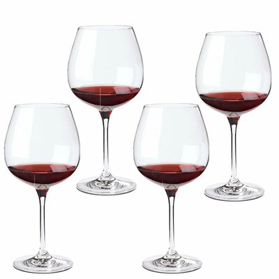 Wine Enthusiast Fusion Classic Pinot Noir Wine Glass (Set of 4)