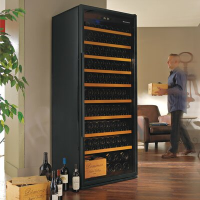 Wine Enthusiast 259 Bottle Single Zone Wine Refrigerator