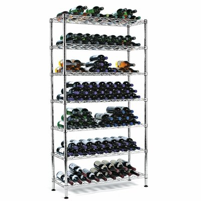 Wine Enthusiast Pantry 126 Bottle Wine Rack