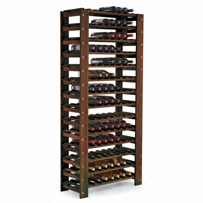Wine Enthusiast Swedish 126 Bottle Wine Rack