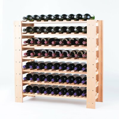 Wine Enthusiast Swedish 63 Bottle Wine Rack