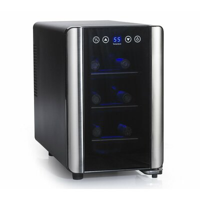 Wine Enthusiast Companies Silent 6 Bottle Touchscreen Wine Refrigerator