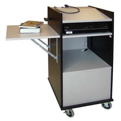 Woodware Furniture Class Echo Media Cart