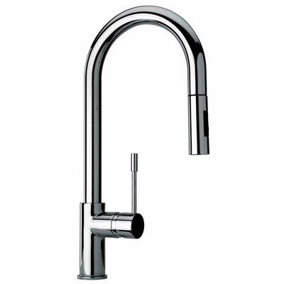 J25 Kitchen Series Single Hole Kitchen Faucet with Goose Neck Spout