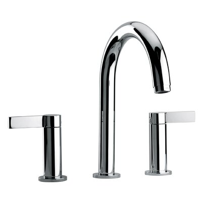 J14 Bath Series Two Lever Handle Roman Tub Faucet with Classic Spout - 1410