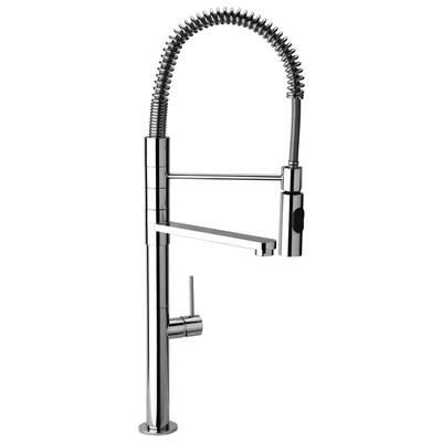 Commercial Kitchen Faucets With Sprayer : ... Commercial Kitchen Faucet with Swivel Spout and Commercial Sprayer