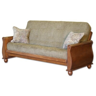 Premium Hardwood Series Bordeaux Futon Frame and Mattress