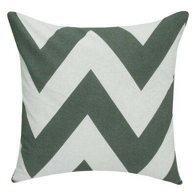 Divine Designs Eddy Chevron Poly Cotton Pillow