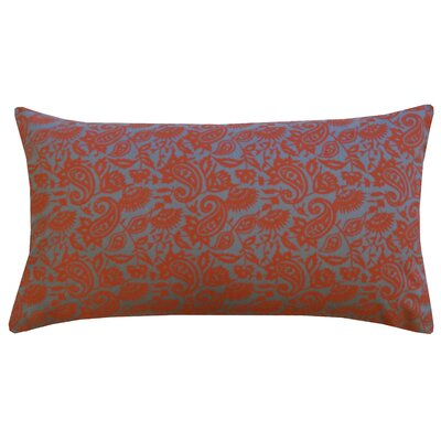 Divine Designs Petite Paisley Cotton Lumbar Pillow