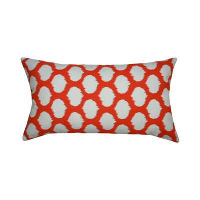 Circles Cotton Lumbar Pillow