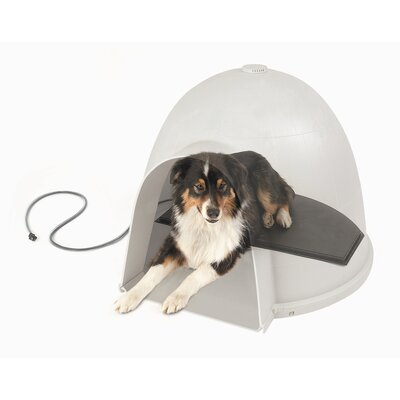 Igloo Style Heated Dog Bed