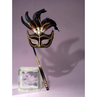 Forum Novelties Inc. Female Venetian Mask with Stick