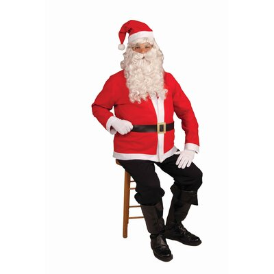 Forum Novelties Inc. Santa Claus Jacket Costume Set