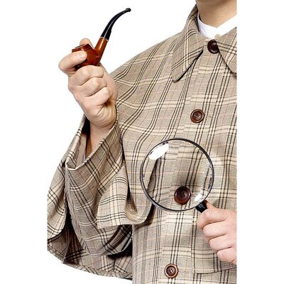 Smiffy's Sherlock Holmes Accessory Kit