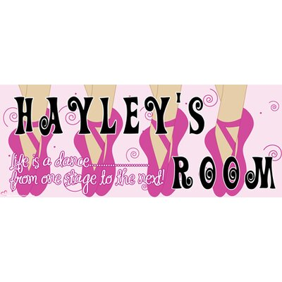 Mona Melisa Designs Ballerina Girl Name Sign