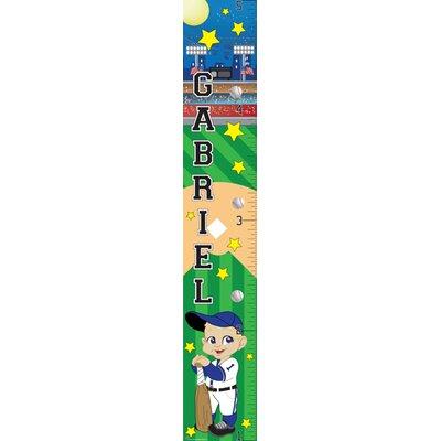 Mona Melisa Designs Baseball Boy Growth Chart