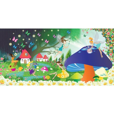 Mona Melisa Designs Fairy Girl Wall Mural